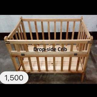 Wooden baby Crib (FREE DELIVERY)