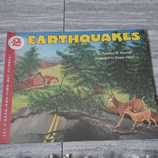 earthquakes ( stage 2 let's read and find out science)
