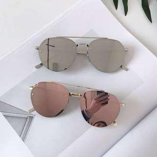 韓國太陽眼鏡炫光墨鏡水銀鏡片偏光太陽眼鏡新款GM款
