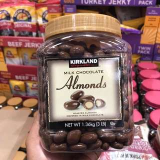 Pre-order kirkland almonds from USA