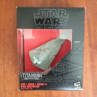 Star Wars Star Destroyer Titanium No.24
