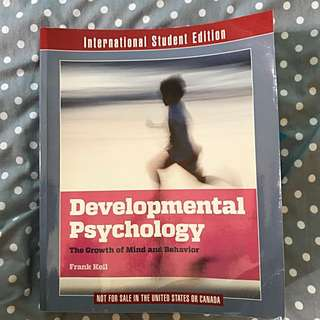 🚚 Developmental Psychology 發展心理學;Introduction to Biopsychology 生理心理學