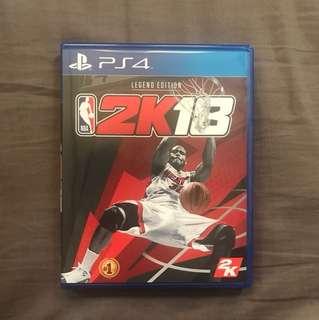 NBA 2K18 Legend Edition Cover