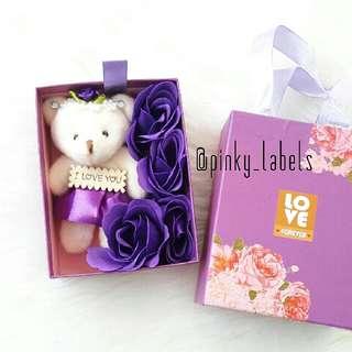 Teddy Bear In Box Flower