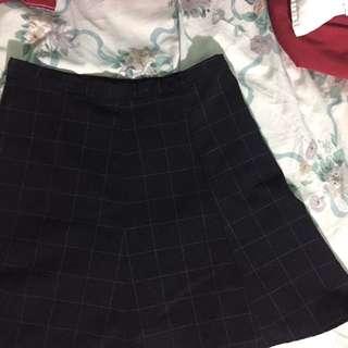 AA Grid Skirt