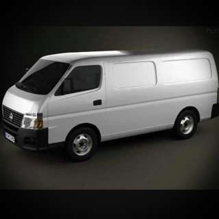 VAN DRIVER ONLY FOR TRANSPORTATION / MOVERS