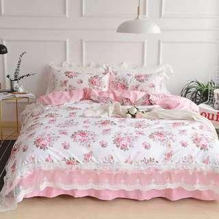 ✨ 100% cotton skirting bedding