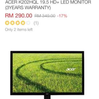 Acer k2 series monitor
