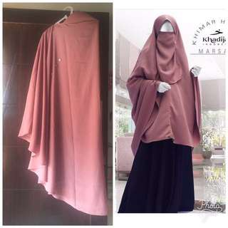 Khimar Helpy Button By Khadijah Indonesia