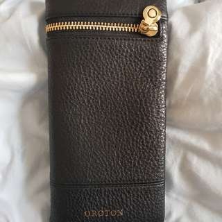 Oroton Soft-Fold Wallet (black)