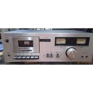 """Spoil"" vintage Sonas IT-730 Cassette Deck Player for $80"