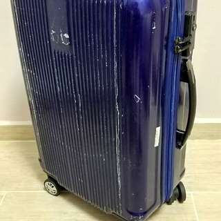 Valentino Creations 24 inch polycarbonate luggage