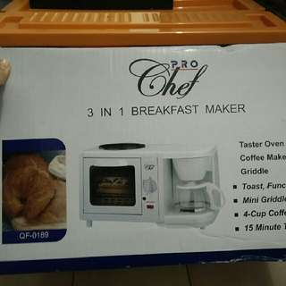 Pro Chef 3 In 1 Breakfast Maker