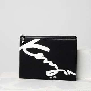 Kenzo signature clutch