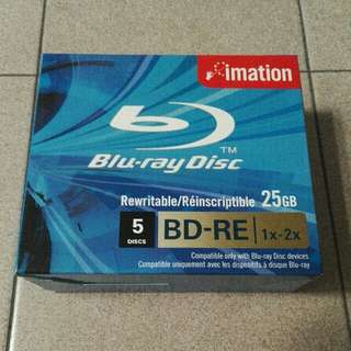 Blu-ray Disc (BD-RE) 25GB x5