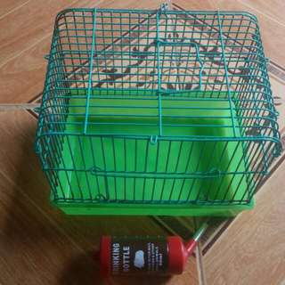 Hamster Cage & GH
