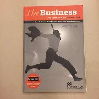The Business pre-intermediate Student's Book