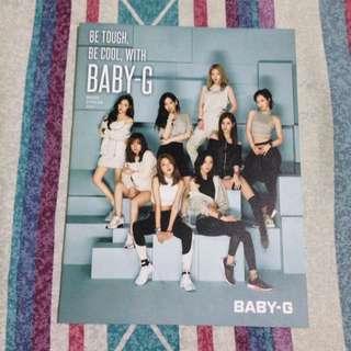 Girls Generation (Baby G Watch Catalog)