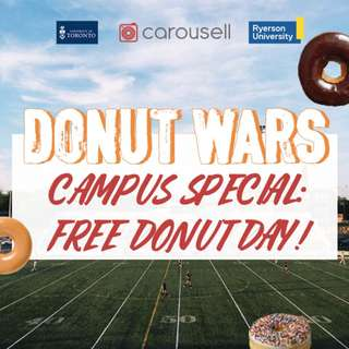 Donut Wars: FREE Donut Day! 🍩
