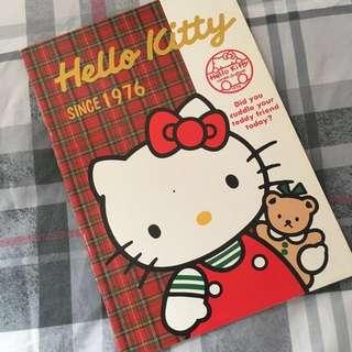 Hello Kitty notebook 1990