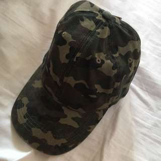 Cotton On Camo Baseball Cap / Hat