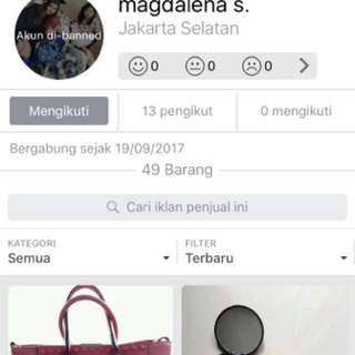 Beware Her Account Name is Magdalena1195