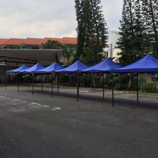 Brand New 3m x 3m Gazebo Tentage For Sale (Blue and Red)