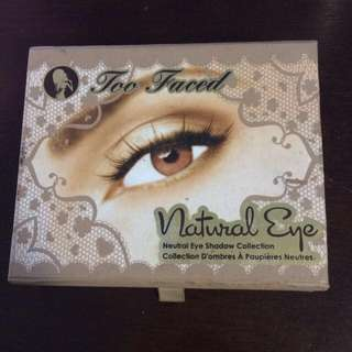 Too Faced Natural Eye Palette PRICE DROP