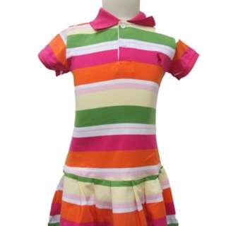 Gurls Polo Dress