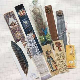 Assorted Old Bookmarks