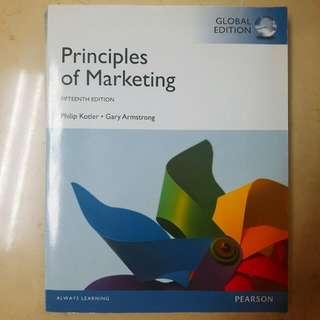 Principles of Marketing 15E