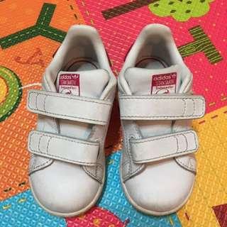 大阪購入adidas桃紅鞋,13cm