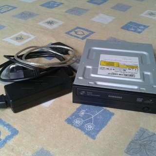 Samsung External DVD Writer model SH-S202