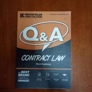 Contract Law (Q&A)