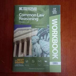 Common Law Reasoning