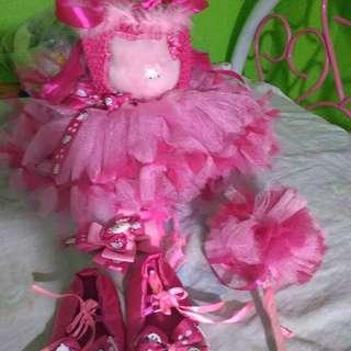 Hello Kitty tutu gown