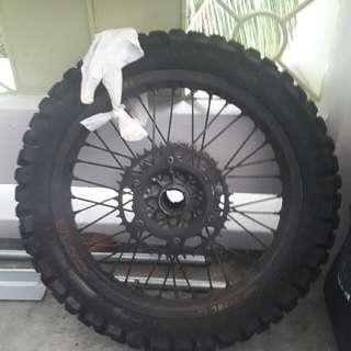 KTM takasago excelrims(rear only)