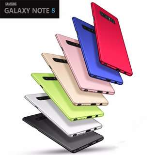 ★Premium★Note 8 microgrinding case full covered version