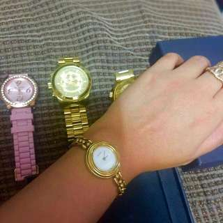 Authentic Gucci 11/12.2 ladies watch swiss made reprice before 7000 now selling 6000
