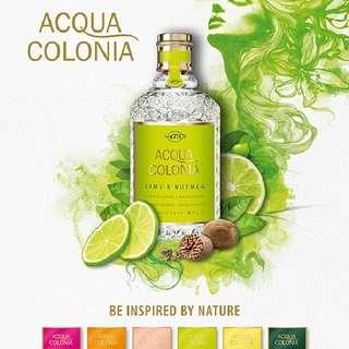 Acqua Colonia Eau de Cologne by 4711 170ml (Lavender, Mandarin, Orange, Lemon, Lime)