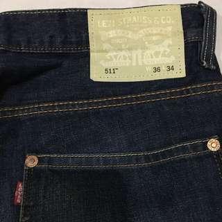 Original levi's 511 jeans