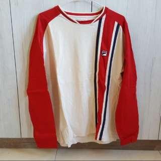 限人標……FILA長袖運動衫