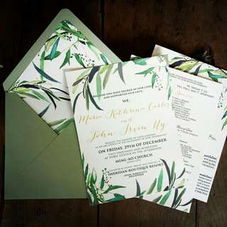 Normal Invites with Lining