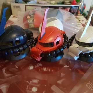 zaku exceed head collection series 2