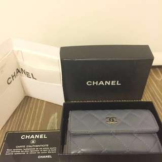 AUTHENTIC CHANEL WALLET CARD HOLDER