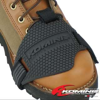 Instock Komine Motorcycle Shifter Boot Shoe Protector Japan