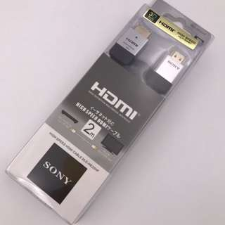 SONY 1.4 2M HDMI Cable Full HD For 3D HDTV PS/XBOX/Nintendo/Etc