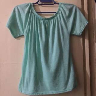 BRAND NEW Turquoise Off Shoulder