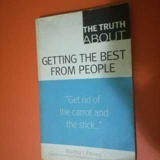 Book: Getting the Best From People by Martha I. Finney