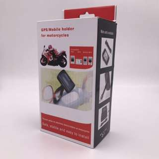 GPS/Mobile holder for motorcycle